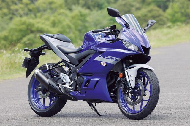 画像: YAMAHA YZF-R25 ABS 総排気量:249cc エンジン形式:水冷4ストDOHC4バルブ並列2気筒 シート高:780mm 車両重量:170g 2021年モデルの発売日:2021年1月15日 メーカー希望小売価格:税込65万4500円