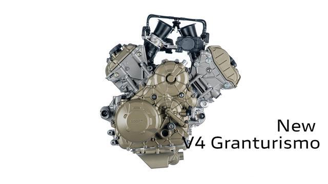 画像: V4 Granturismo: Technological Beauty www.youtube.com