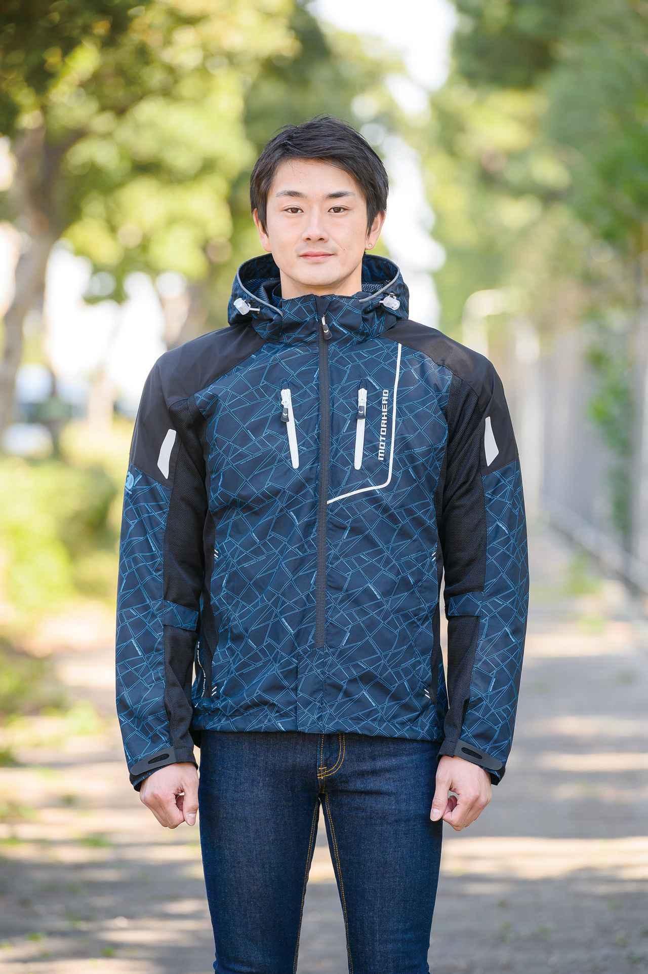 画像: 着用サイズ:L モデルの身長・体重:176cm・67kg