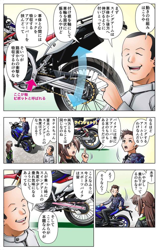 画像5: 第12話 アクセルオンで伸び上がれ/ゆる~くライテク談義『モトシーカーズ・カフェへようこそ!』