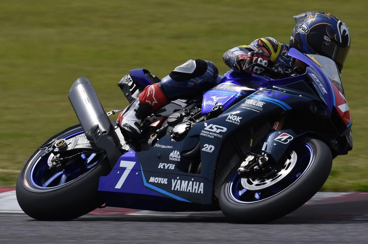 画像: 盤石の強さを見せた中須賀克行 ヤマハファクトリーレーシングチーム