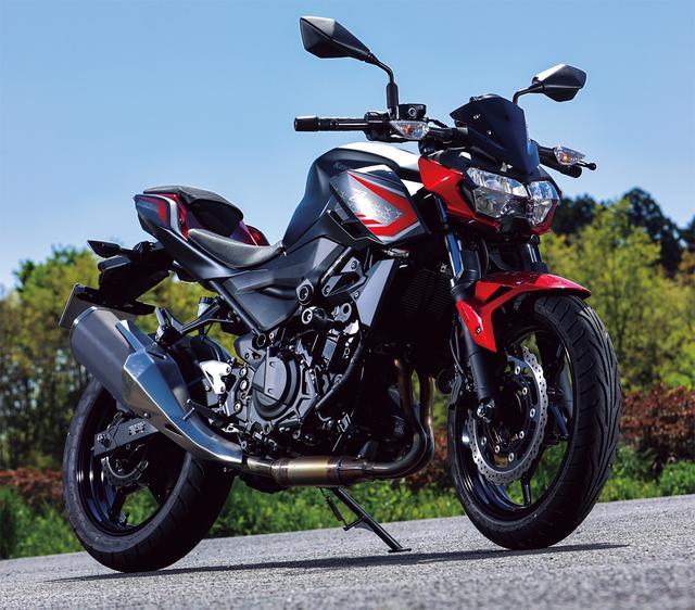画像: Kawasaki Z250 総排気量:248cc エンジン形式:水冷4ストDOHC4バルブ並列2気筒 シート高:795mm 車両重量:164kg 2021年モデルの発売日:2020年11月6日 メーカー希望小売価格:税込61万500円