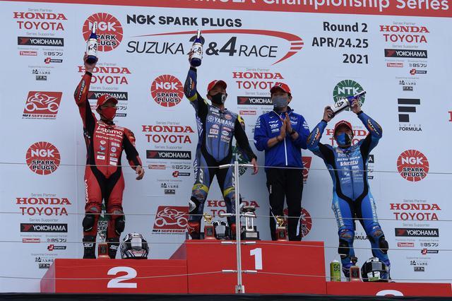画像2: <全日本ロードレース> 中須賀圧勝! 清成及ばず ~3位加賀山は自己記録を更新?