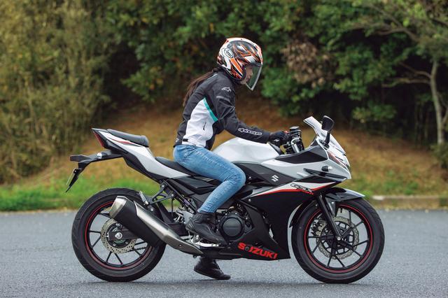 画像19: スズキ「GSX250R ABS」インプレ(2021年)扱いやすさ抜群! 街乗りもツーリングも楽しめるフルカウル250ccスポーツ