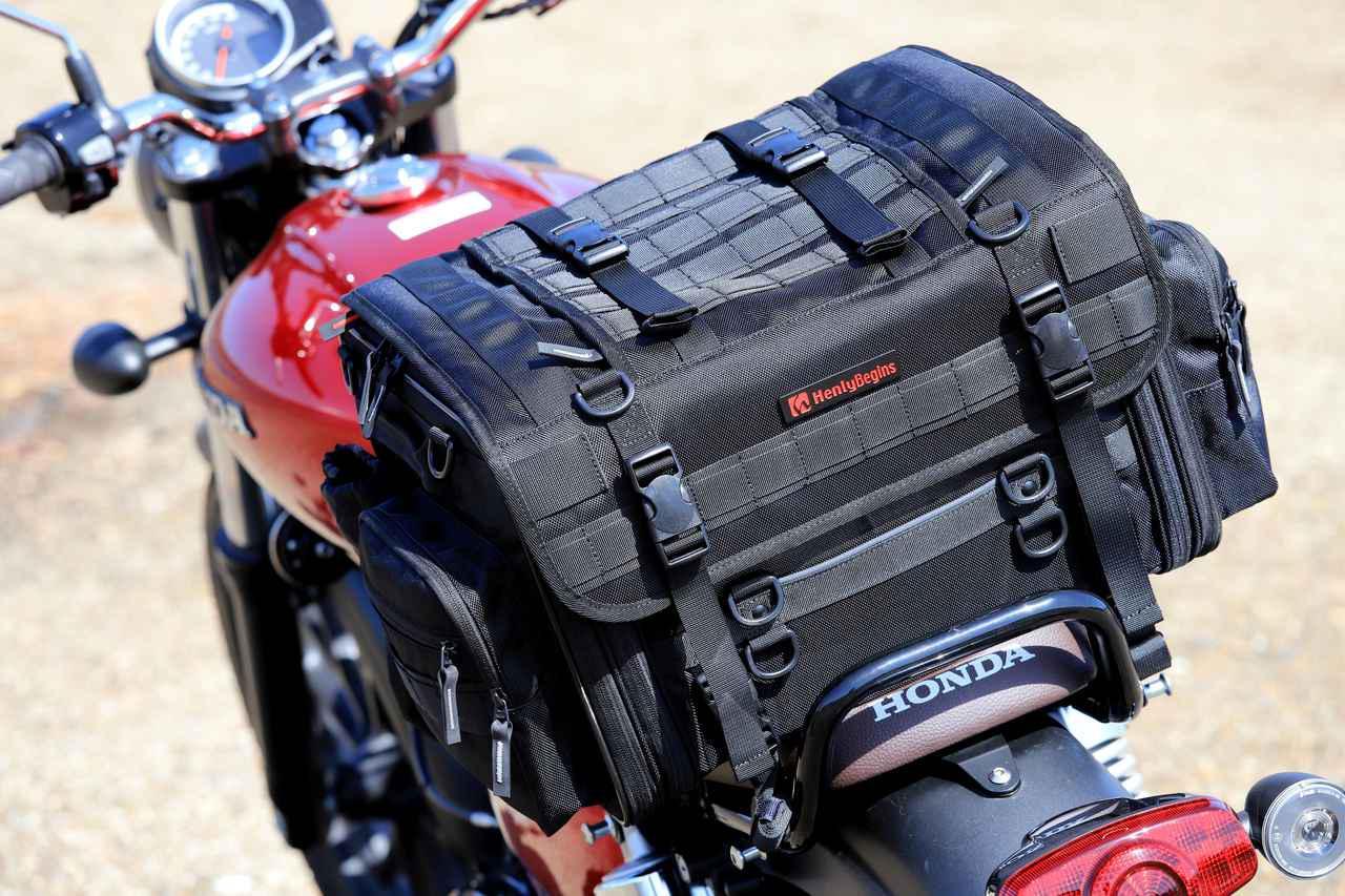 画像9: 【傑作ツーリングバッグ】ヘンリービギンズ「PRO」シリーズを徹底解説! 令和に生まれたシートバッグの新たな王道モデル
