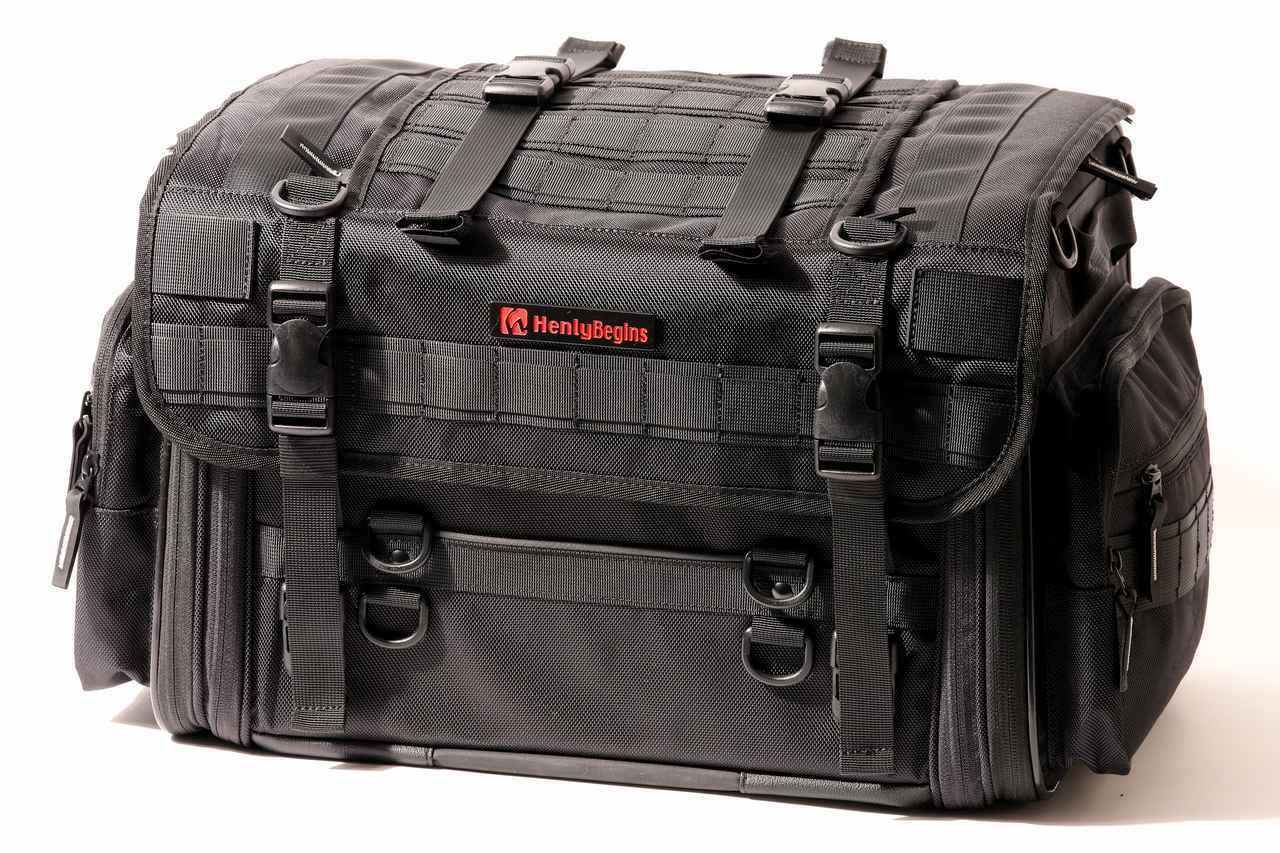 画像7: 【傑作ツーリングバッグ】ヘンリービギンズ「PRO」シリーズを徹底解説! 令和に生まれたシートバッグの新たな王道モデル