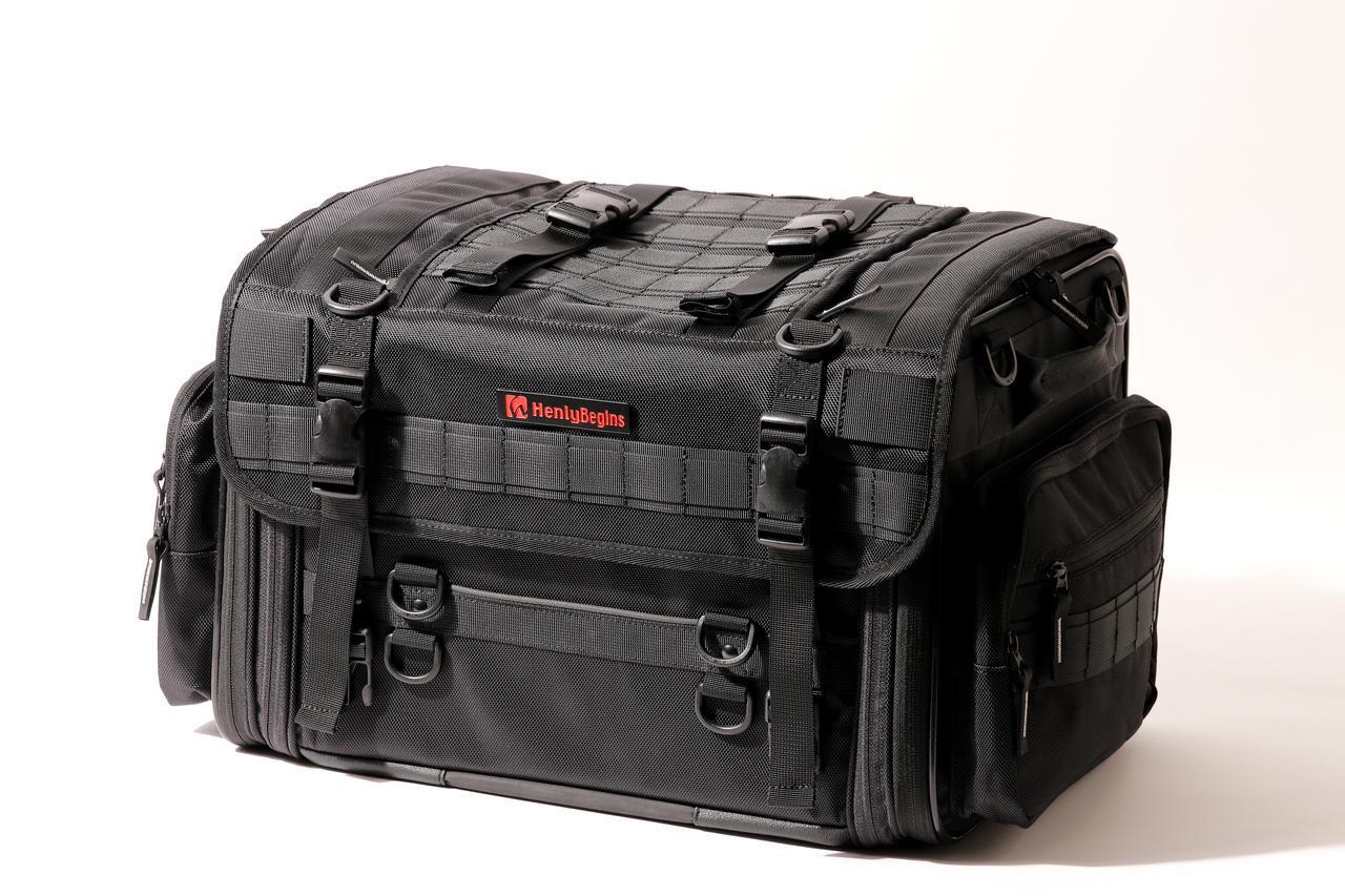 画像15: 【傑作ツーリングバッグ】ヘンリービギンズ「PRO」シリーズを徹底解説! 令和に生まれたシートバッグの新たな王道モデル