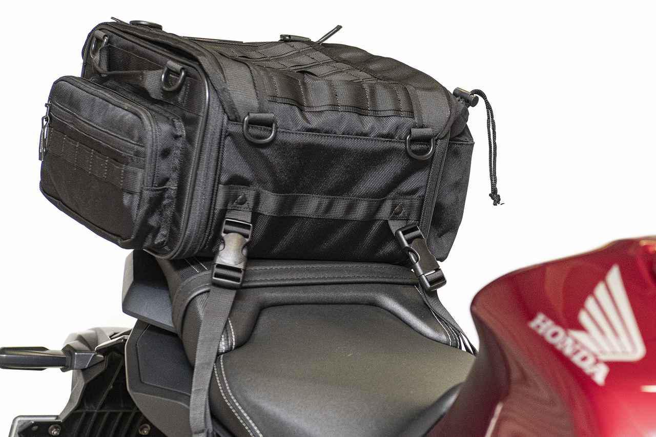 画像3: 【傑作ツーリングバッグ】ヘンリービギンズ「PRO」シリーズを徹底解説! 令和に生まれたシートバッグの新たな王道モデル