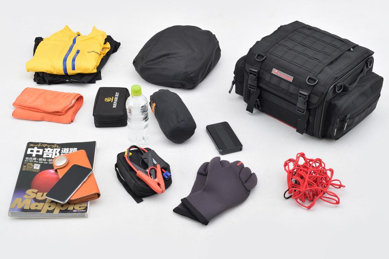 画像2: 【傑作ツーリングバッグ】ヘンリービギンズ「PRO」シリーズを徹底解説! 令和に生まれたシートバッグの新たな王道モデル