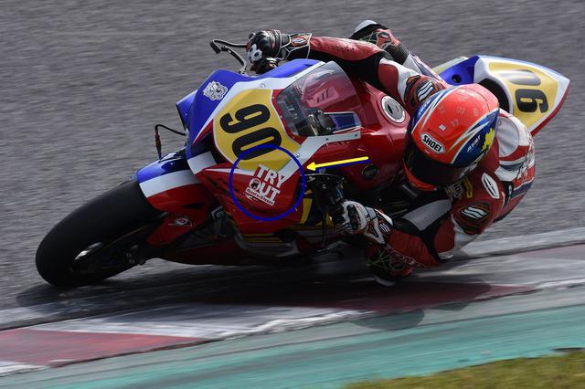 画像: Honda緑陽会熊本レーシングのCBR1000RR-Rと吉田光弘 トライアウト対象チームはこんなデカいステッカー貼り付けさせられます……