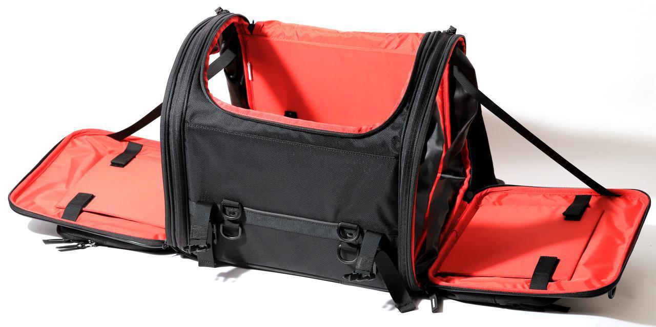 画像13: 【傑作ツーリングバッグ】ヘンリービギンズ「PRO」シリーズを徹底解説! 令和に生まれたシートバッグの新たな王道モデル