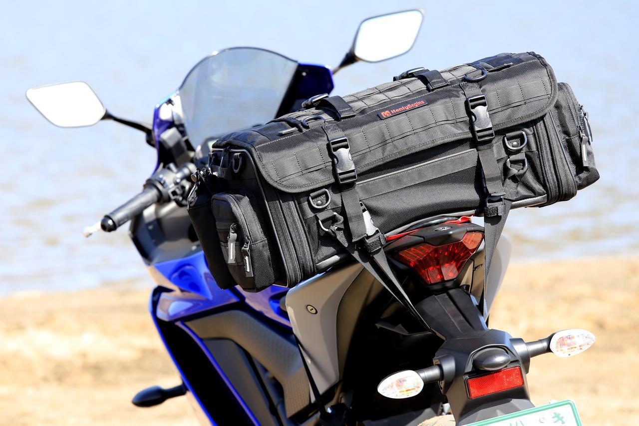 画像6: 【傑作ツーリングバッグ】ヘンリービギンズ「PRO」シリーズを徹底解説! 令和に生まれたシートバッグの新たな王道モデル