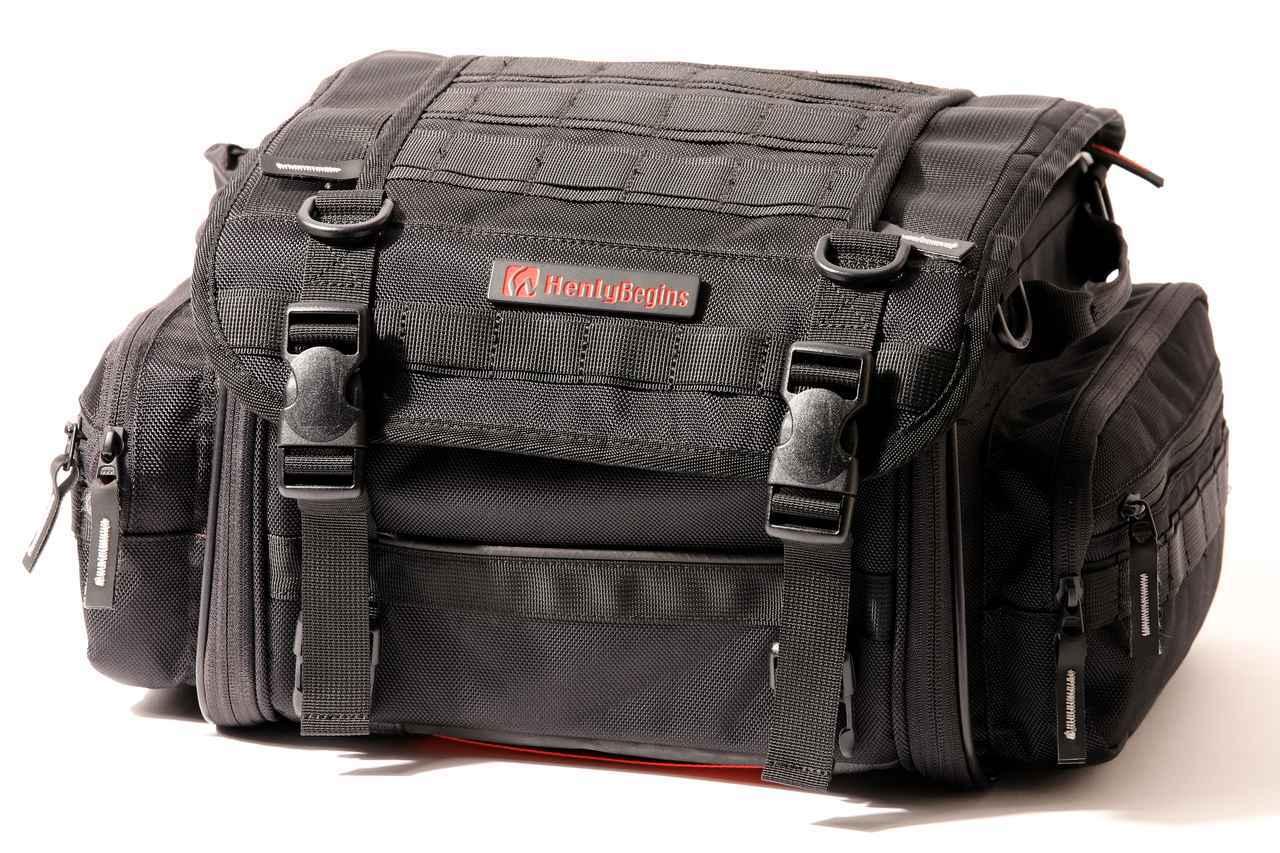 画像1: 【傑作ツーリングバッグ】ヘンリービギンズ「PRO」シリーズを徹底解説! 令和に生まれたシートバッグの新たな王道モデル