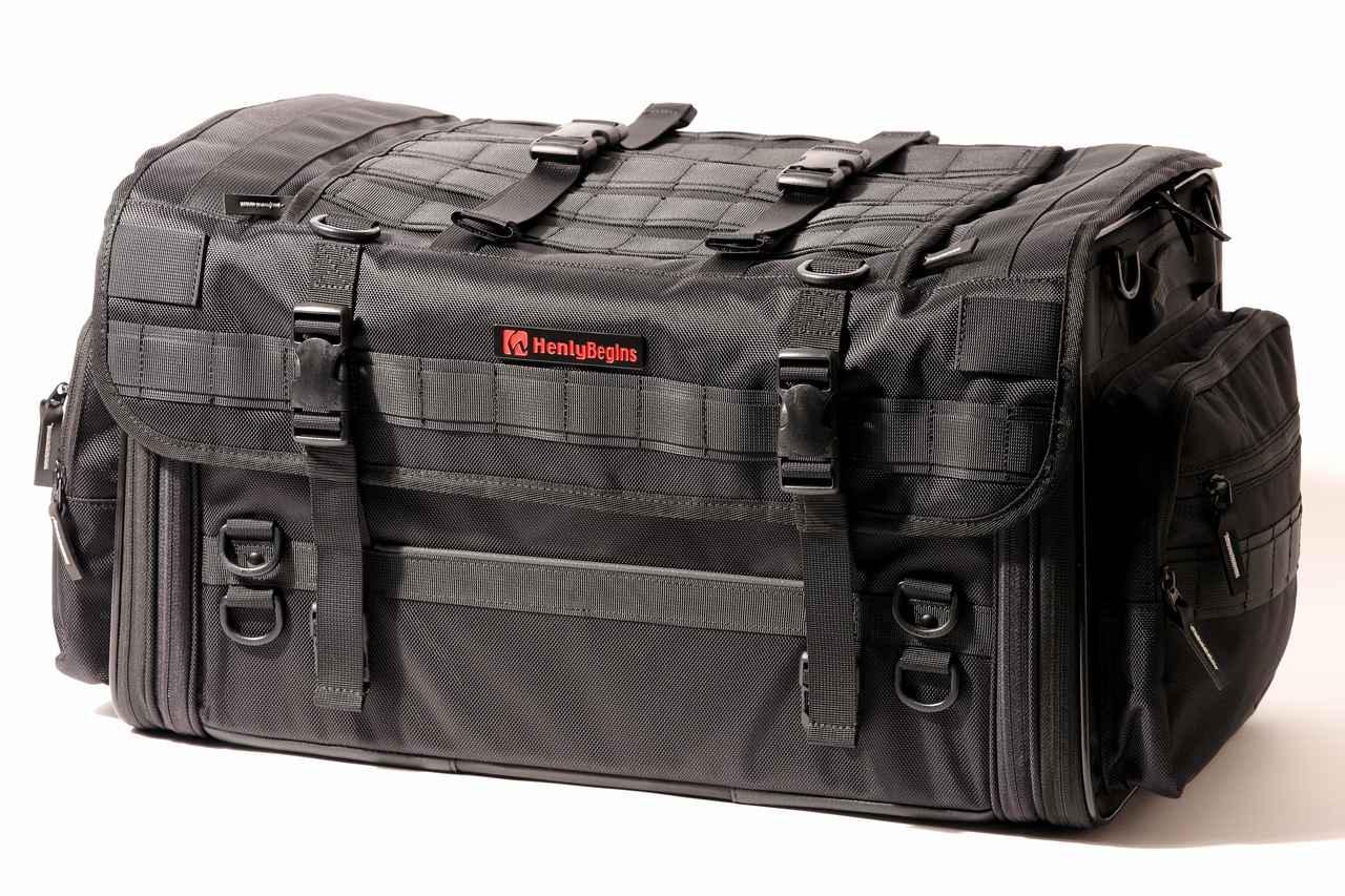 画像10: 【傑作ツーリングバッグ】ヘンリービギンズ「PRO」シリーズを徹底解説! 令和に生まれたシートバッグの新たな王道モデル