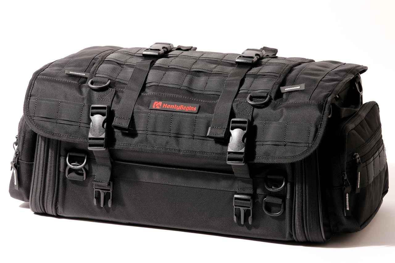 画像4: 【傑作ツーリングバッグ】ヘンリービギンズ「PRO」シリーズを徹底解説! 令和に生まれたシートバッグの新たな王道モデル