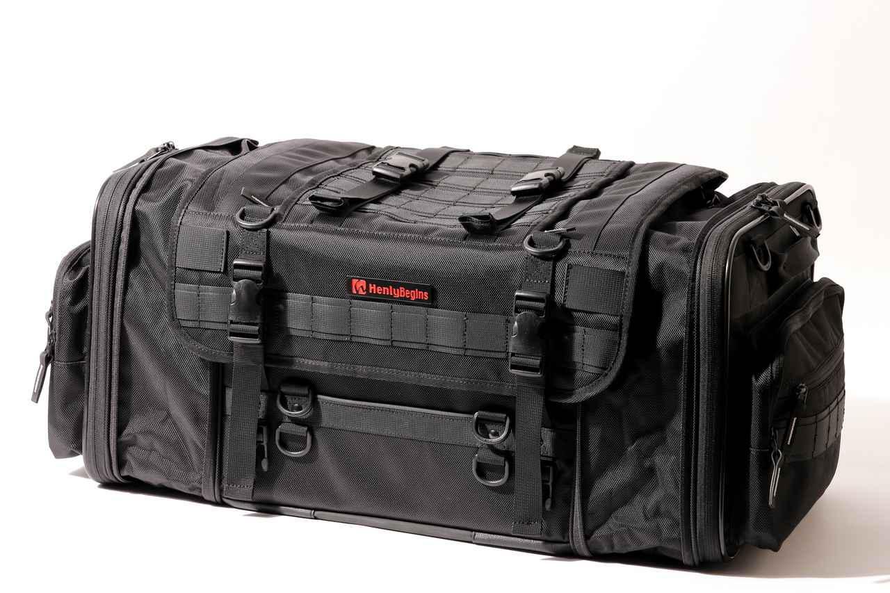 画像16: 【傑作ツーリングバッグ】ヘンリービギンズ「PRO」シリーズを徹底解説! 令和に生まれたシートバッグの新たな王道モデル