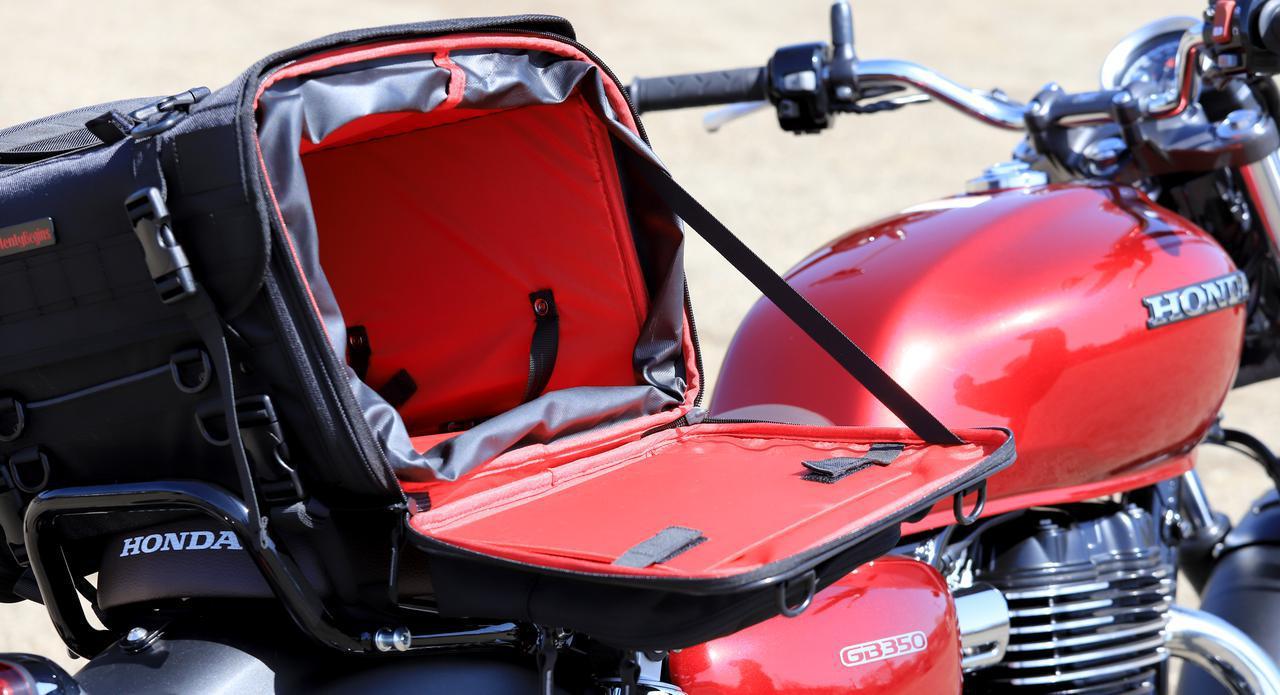 画像14: 【傑作ツーリングバッグ】ヘンリービギンズ「PRO」シリーズを徹底解説! 令和に生まれたシートバッグの新たな王道モデル