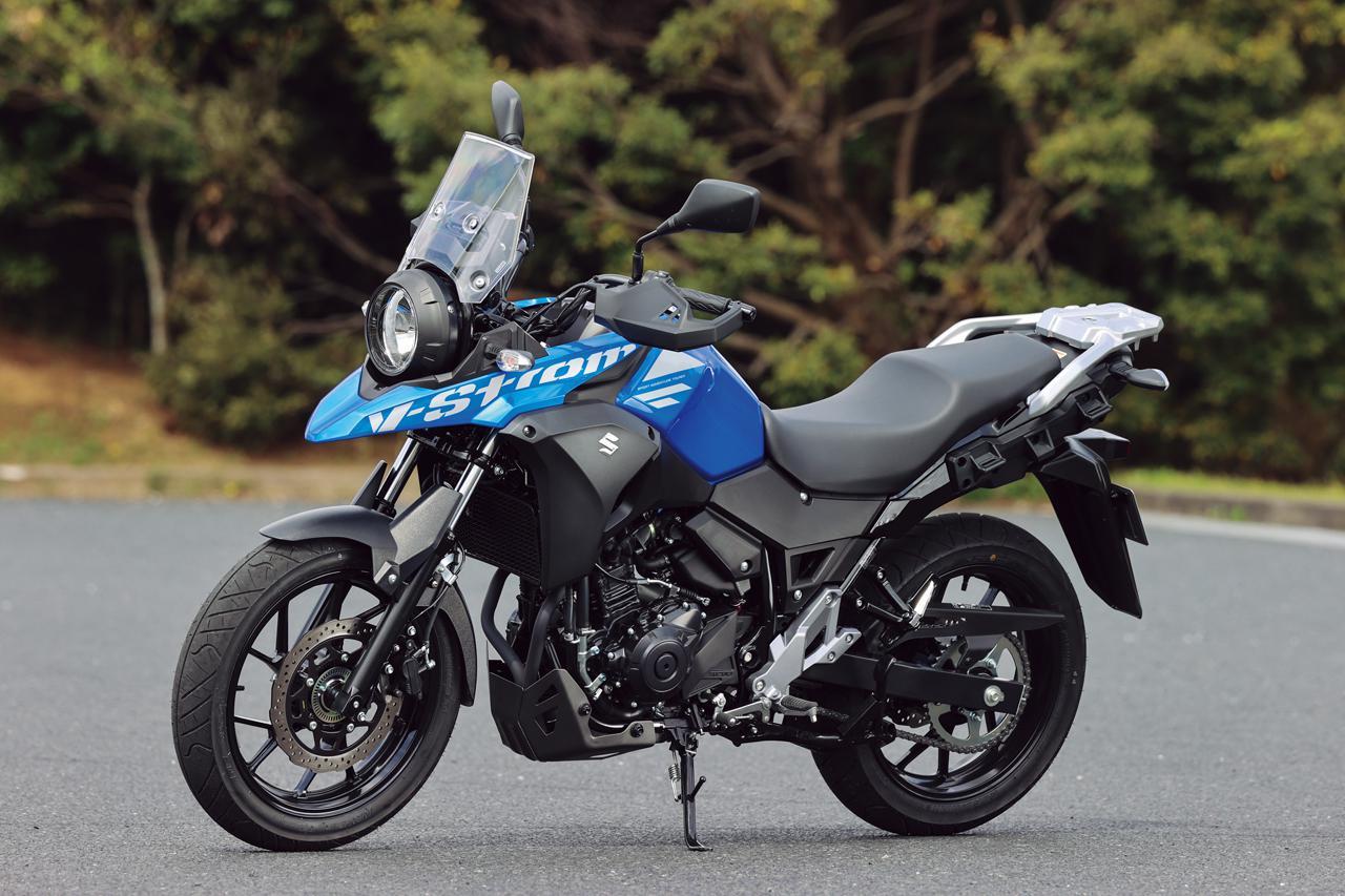 Images : 1番目の画像 - 【写真14枚】スズキ「Vストローム250 ABS」2021年モデル - webオートバイ