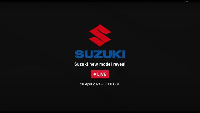 画像: Suzuki new model reveal - 26 April 2021 - 08:00 BST www.youtube.com