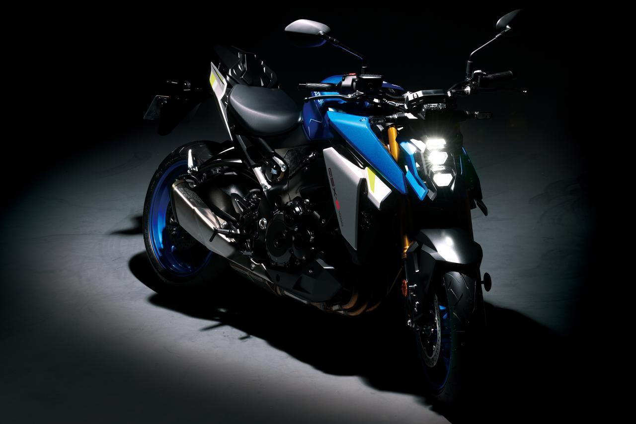 画像: SUZUKI GSX-S1000 2021年モデル 総排気量:999cc エンジン形式:水冷4ストDOHC4バルブ並列4気筒 シート高:810mm 車両重量:214kg 国内導入時期・価格:未定