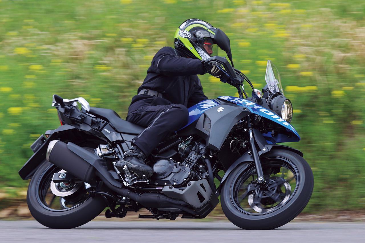 Images : 3番目の画像 - 【写真14枚】スズキ「Vストローム250 ABS」2021年モデル - webオートバイ