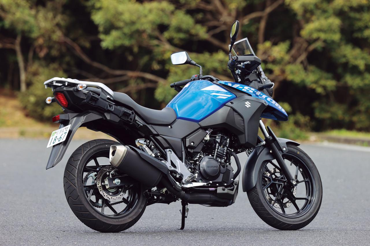 Images : 2番目の画像 - 【写真14枚】スズキ「Vストローム250 ABS」2021年モデル - webオートバイ