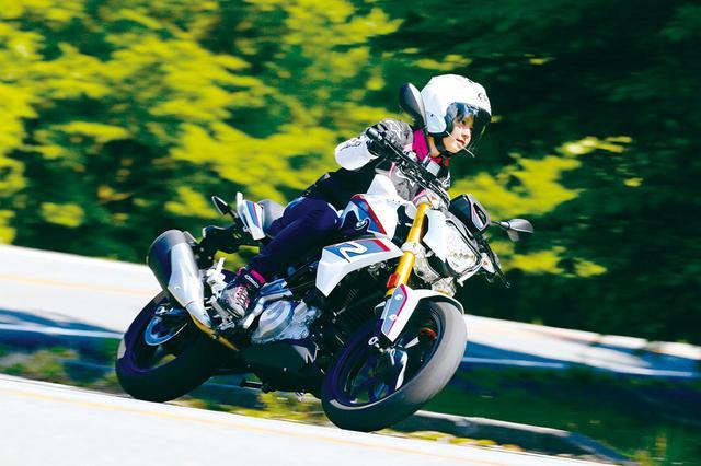 画像: 【梅本まどかの試乗ひと言コメント】BMW「G310R」(2018年) - webオートバイ
