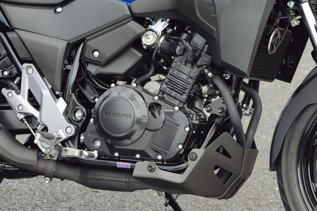 画像: SOHCエンジンは発進から90km/h あたりまでの速度域で優れた加速性能を発揮するカムプロフィールを採用。吹け上がりも滑らかだ。