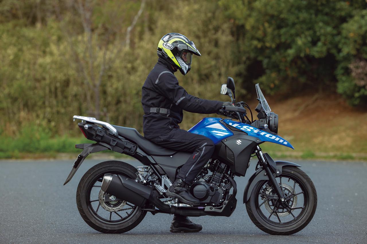 Images : 5番目の画像 - 【写真14枚】スズキ「Vストローム250 ABS」2021年モデル - webオートバイ