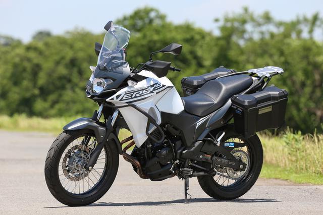 画像: Kawasaki VERSYS-X 250 TOURER 総排気量:248cc エンジン形式:水冷4ストDOHC4バルブ並列2気筒 シート高:815mm 車両重量:183kg 発売日:2019年12月1日 メーカー希望小売価格:税込70万4000円/72万500円