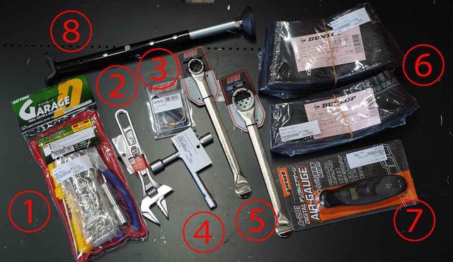 画像2: オフロード用品専門店で聞いた林道ツーリング向けの持ち物