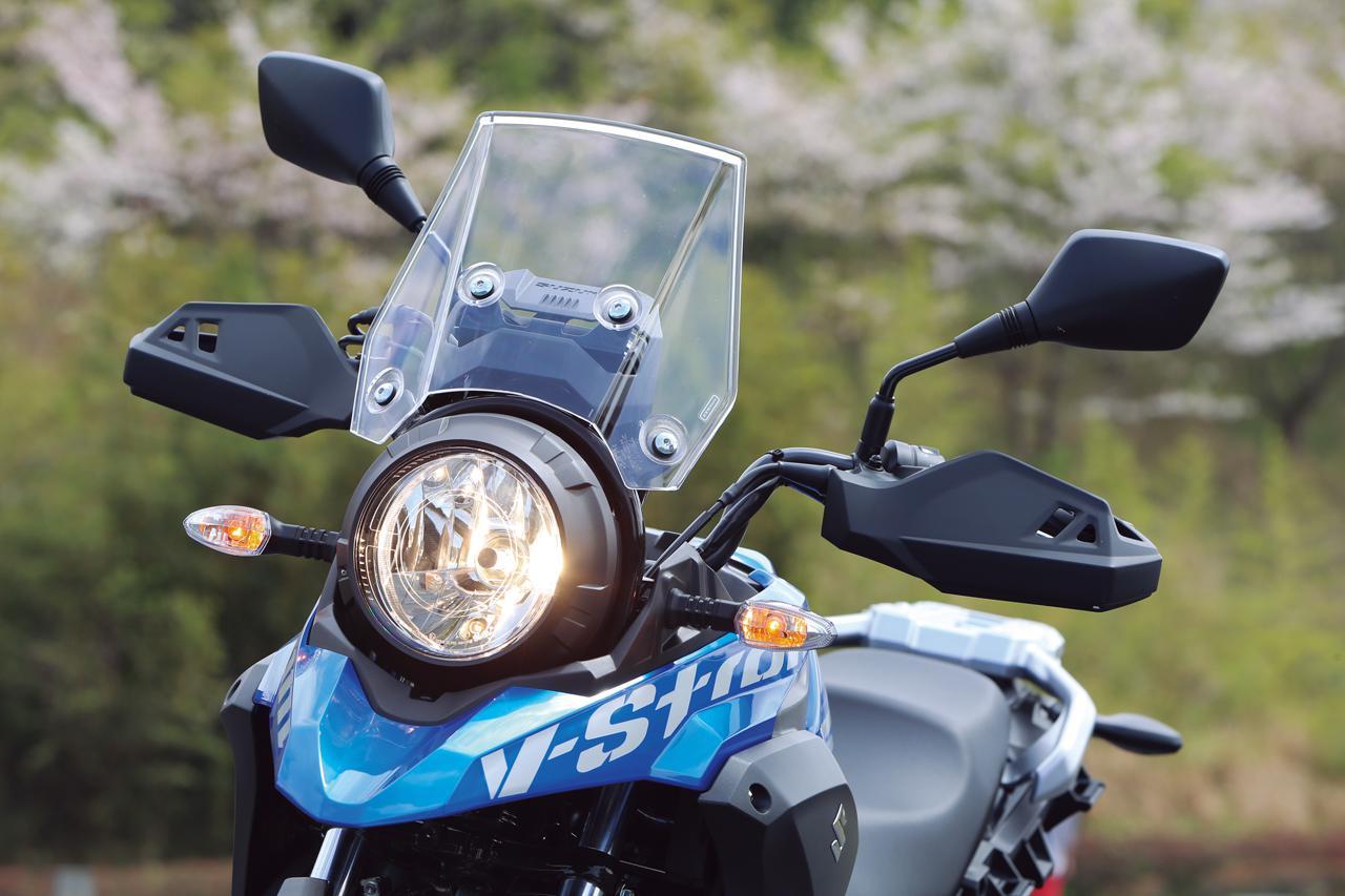 Images : 8番目の画像 - 【写真14枚】スズキ「Vストローム250 ABS」2021年モデル - webオートバイ