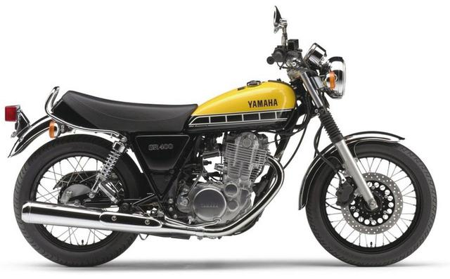 画像: ヤマハ創業60周年記念モデル「SR400」60th Anniversaryは受注期間限定モデル。ヤマハの70・80年代の欧米レースをイメージした『スピードブラック』のデカールをタンクに採用。発売当時価格:58万3200円