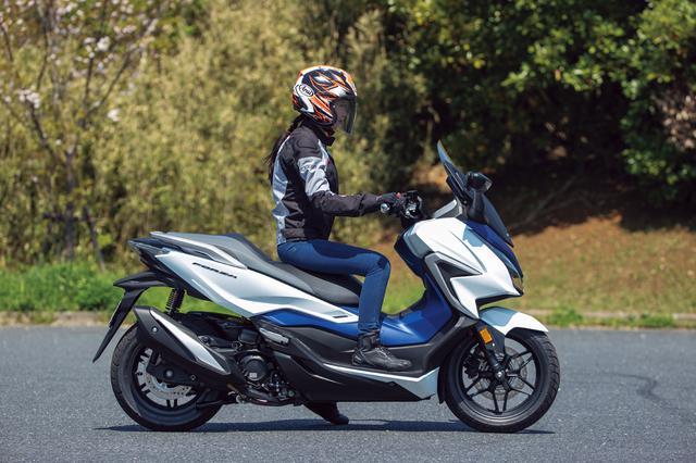 画像9: ホンダ新型「フォルツァ」インプレ(2021年)新設計エンジンを搭載し装備もさらに充実した250ccスクーターの雄