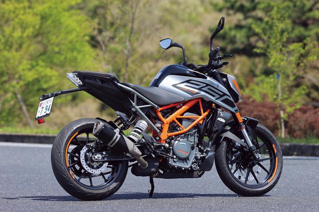 画像1: KTM「250 DUKE」インプレ(2021年)ビギナーライダーも楽しめる輸入車! 日本車とは異なるスポーツテイストが持ち味