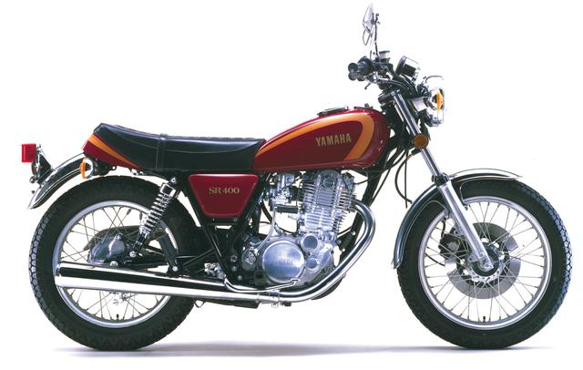 画像: 1978年 SR400 初期型 カラー:マコマルーン