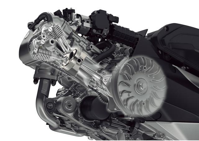 画像: ロングストロークの「eSP+」エンジンは4バルブヘッドを採用。吸気効率の向上に加え、フリクションロスも低減した。