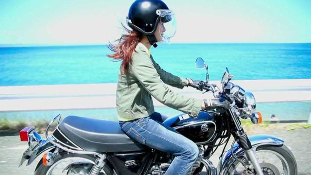 画像: YAMAHA SR400 Kickstart My Life www.youtube.com