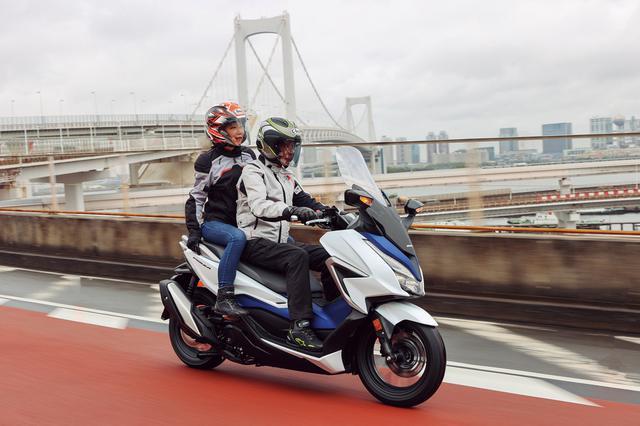 画像10: ホンダ新型「フォルツァ」インプレ(2021年)新設計エンジンを搭載し装備もさらに充実した250ccスクーターの雄