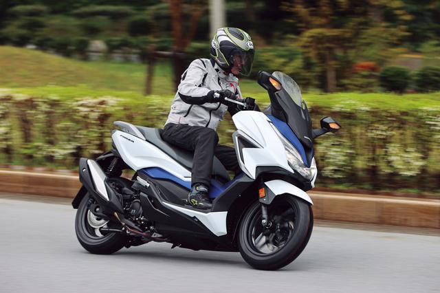画像2: ホンダ新型「フォルツァ」インプレ(2021年)新設計エンジンを搭載し装備もさらに充実した250ccスクーターの雄