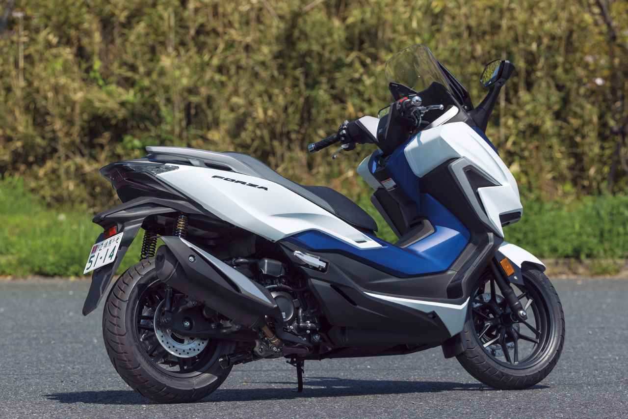 画像1: ホンダ新型「フォルツァ」インプレ(2021年)新設計エンジンを搭載し装備もさらに充実した250ccスクーターの雄