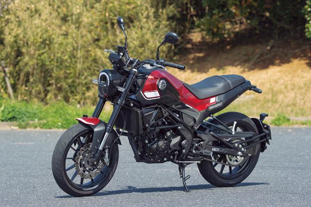 画像: Benelli LEONCINO250 総排気量:249cc エンジン形式:水冷4ストDOHC4バルブ単気筒 シート高:800mm 車両重量:162kg メーカー希望小売価格:税込54万8900円