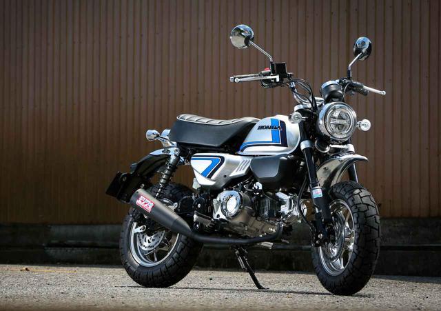 """画像: """"スペンサーカラー"""" モンキー125の情報はこちら「レガーレ Z125/N モンキーFS」 - webオートバイ"""