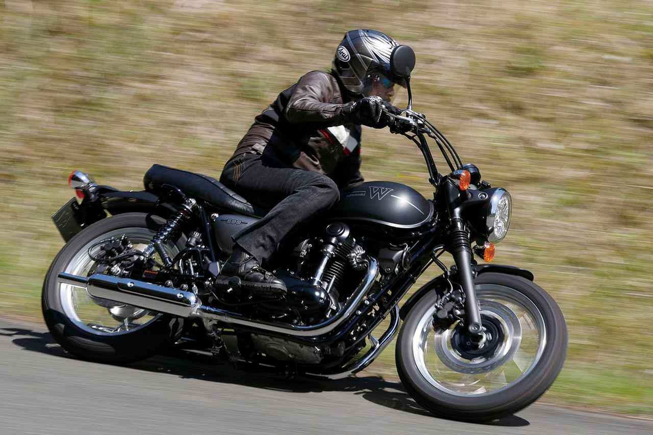 画像: 【インプレ】カワサキ「W800ストリート」「W800カフェ」 - webオートバイ
