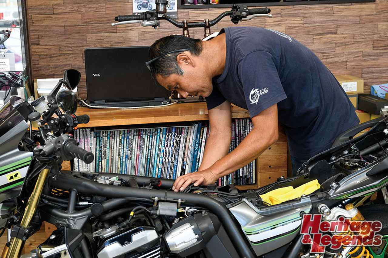 画像: パーツ&カスタムから見えてくるカワサキ・ZRXシリーズの整備とメンテナンス