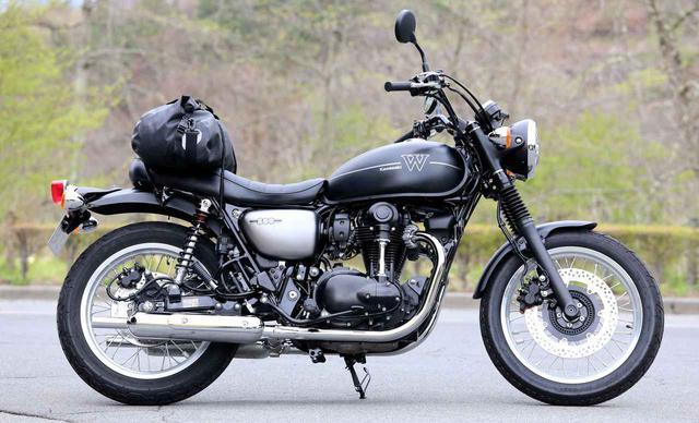 画像: 【積載インプレ】カワサキ「W800ストリート」 - webオートバイ