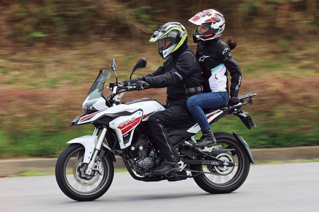 画像14: ベネリ「TRK251」インプレ(2021年)250ccで長距離ツーリングを楽しみたいライダーの新たな選択肢となるか、価格・燃費に注目