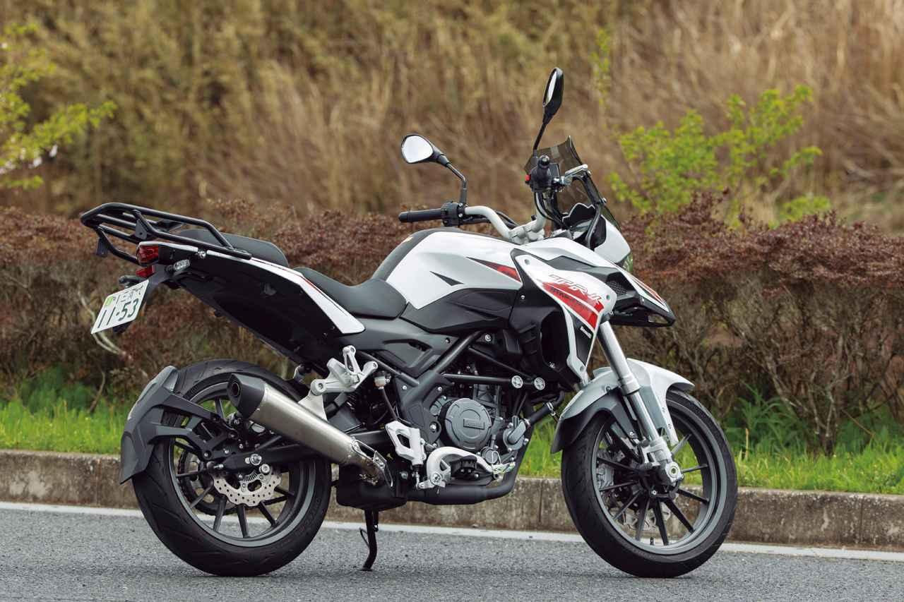 Images : 2番目の画像 - 【写真15枚】ベネリ「TRK251」 - webオートバイ