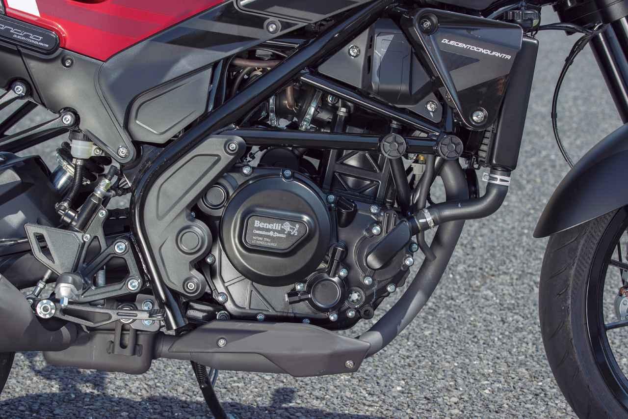 Images : 8番目の画像 - 【写真13枚】ベネリ「レオンチーノ250」 - webオートバイ