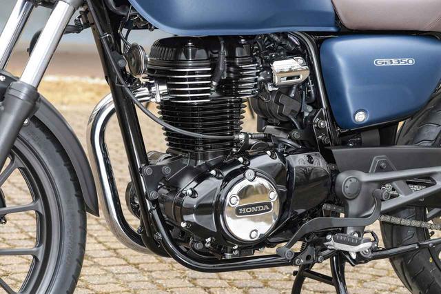 画像: GB350のエンジン